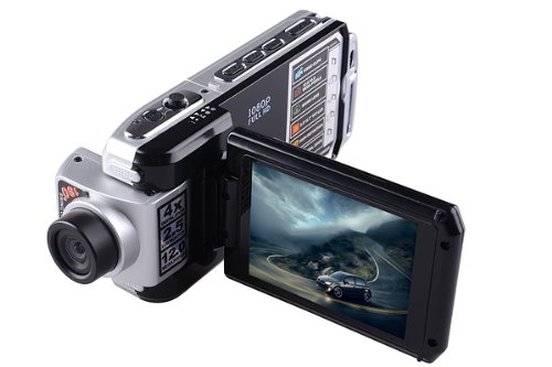 Dod F900Lhd Full Hd Car Dvr Camera Black Box 1080P 5.0 Megapixel H.264, 4X Digital Zoom Hdmi, Led Light