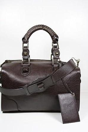 Balenciaga Handbags Large Dark Brown Leather 225585