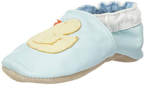 Jack & Lily Baby Duckie blue First Walking Shoes Blue Blau (Blue) Size: 24/25