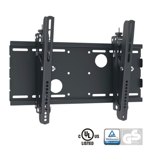 "Black Adjustable Tilt/Tilting Wall Mount Bracket For Grundig Vision 5 40 Vle 5324 Bg 40"" Inch Led Hdtv Tv/Television"