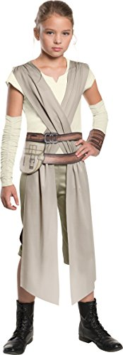 Star Wars: The Force Awakens Child's Rey Costume, Large