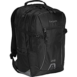 Targus Sport 26L Backpack For Laptops Up To 16-Inch Tsb712Us (Black)