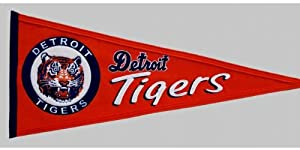 MLB Detroit Tigers Cooperstown Pennant Banner by Winning Streak
