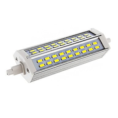 Dimmable R7S 15W 54Xsmd 5730 2700Lm 6000-6500K Cool White Light Led Corn Bulb(Ac 110-130V)