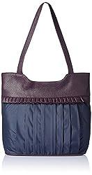 Fantosy Women's Handbag (Fnb-161, Blue)