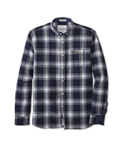 Lindbergh Men's Long Sleeve Plaid Shirt