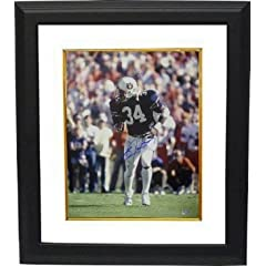 Bo Jackson Autographed Hand Signed Auburn Tigers 16x20 Photo Custom Framed