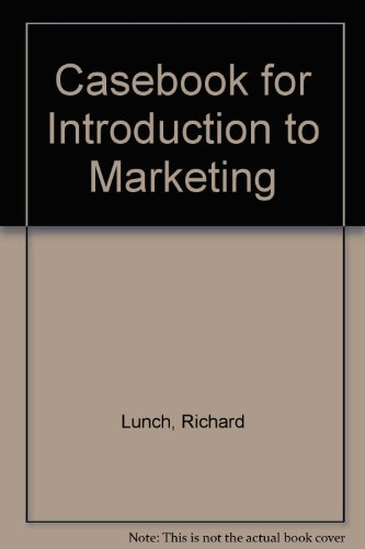 Casebook for Introduction to Marketing
