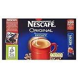 Nescafé Original Decaff 200 Stick Sachets