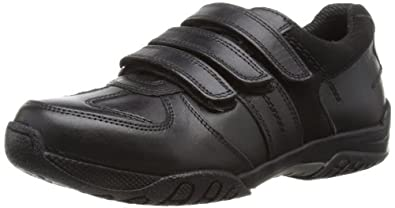 Hush Puppies Airman, Boys' Loafer Shoes, Black, 1 UK Child