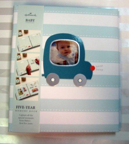Hallmark Baby Bba7011 Car Boy 5 Year Memory Album front-1072847