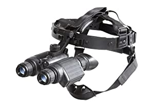 Armasight Ninox GEN 1+ Dual Tube Night Vision Goggles, Black by Armasight