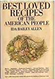 img - for Best Loved Recipes of the American People book / textbook / text book