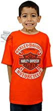 Harley-Davidson Boys Youth Well Positioned II BampS with Wrenches Shirt