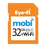 Eye-Fi Mobi 32GB SDHC Class 10 Wireless Memory Card with 90-day Eye-Fi Cloud Service, Frustration Free Packaging...