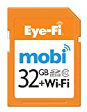 Eye-Fi Mobi 32GB SDHC Class 10 Wireless Memory Card, Frustration Free Packaging (MOBI-32-FF) CURRENT MODEL