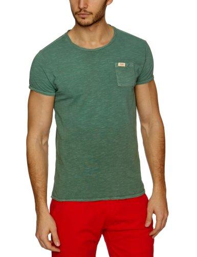 Scotch & Soda Heavy Sprayed Vintage Chestpocket Men's T-Shirt Pine Green Medium