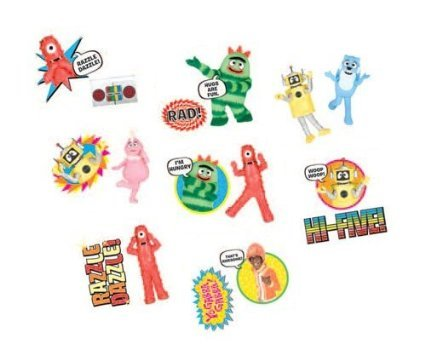 Yo Gabba Tattoo Favors