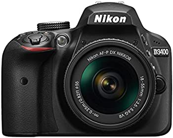 Nikon D3400 24MP HD DSLR Camera w/18-55mm Lens