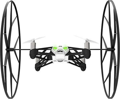 Parrot - MiniDrone Rolling Spider, color blanco (PF723000AA)