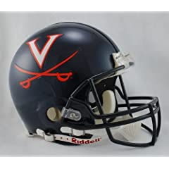 VIRGINIA CAVALIERS NCAA Riddell VSR-4 ProLine AUTHENTIC Football Helmet UVA by ON-FIELD