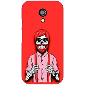 Via flowers Smile Phone Cover For Motorola Moto G (2nd Gen)