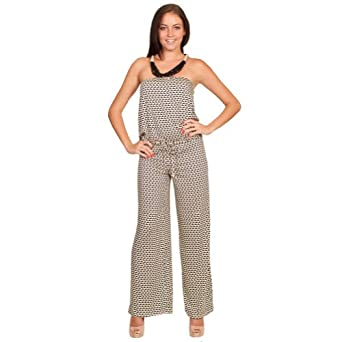 Click Here For proper Size Amazon.com: Nikki Poulos Rain Jumpsuit - Geo Step - Cream/Black - Medium: Clothing