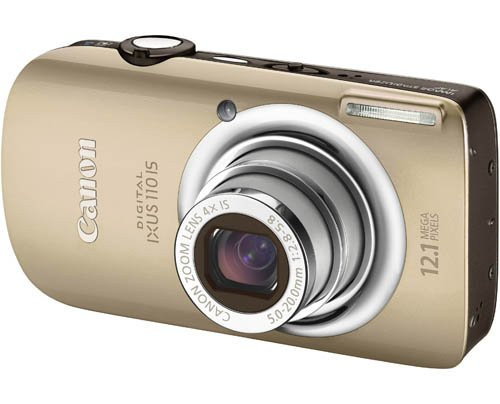 Canon Digital IXUS 110 IS Digital Camera - Gold (12.1 MP, 4.0x Optical Zoom) 2.8