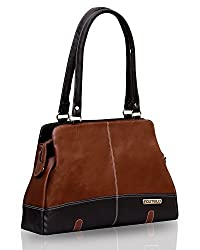 Fostelo Women's Handbag Tan(FSB-407)