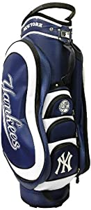 MLB New York Yankees Medalist Cart Golf Bag, Navy by Team Golf