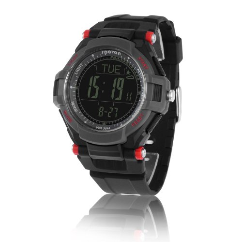 Generic High Technology Multifunctional Outdoor Watch With Alarm/Altimeter/Barometer/Thermometer/Stopwatch/Compass/Countdown