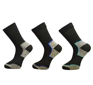 3 Pairs Mens Ultimate Walking Socks By Freshfeel Size 6-11