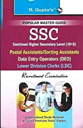 SSC (10+2)- Postal Assistant/Sorting Assistants, DEO & LDC Recruitment Exam Guide (Small Size)