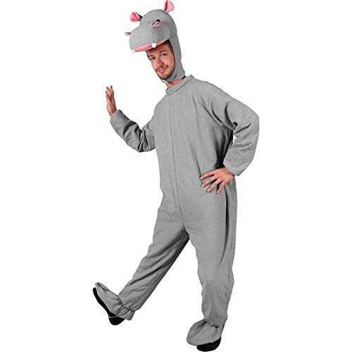 Adult Hippo Halloween Costume (Size: Standard 44)