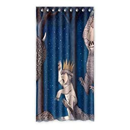 Needyou Where the Wild Things Are Curtain Polyester 50\