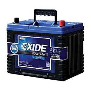 exide edge fp agm24f flat plate agm sealed automotive battery automotive. Black Bedroom Furniture Sets. Home Design Ideas