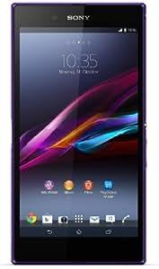 Sony Xperia Z Ultra Smartphone (16,3 cm (6,4 Zoll) Full-HD-TRILUMINOS-Display mit X-Reality, 8 Megapixel Kamera, 2,2GHz, Quad-Core, Snapdragon 800, 2GB RAM, IP55/IP58-Zertifizierung, Android 4.2) lila