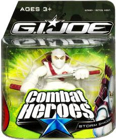 G.I. Joe The Rise of Cobra Combat Heroes Single Pack Storm Shadow - 1