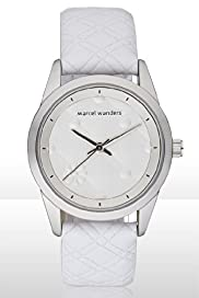 Marcel Wanders Embossed Capitoné Watch with Leather Band