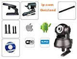 IP Camera Wireless Network WIFI 2 Audio Webcam Night-Vision 11 LED Security Cam