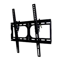 """Heavy-duty TV Wall Mount Bracket for 20, 22, 26, 30, 32, 36, 40, 42 and 47"""" Plasma, LED, LCD TV, and PLASMA TV. 15 degree downward tilt, Support 120 lbs - Special Promotion. 400x400 mm VESA compliant - ²TOCMZ"""