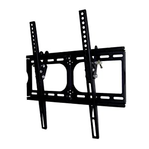 "Heavy-duty TV Wall Mount Bracket for 20, 22, 26, 30, 32, 36, 40, 42 and 47"" Plasma, LED, LCD TV, and PLASMA TV. 15 degree downward tilt, Support 120 lbs - Special Promotion. 400x400 mm VESA compliant - ²TOCMZ"