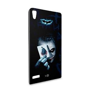 Handyschale Handycase für Huawei Ascend P6 veredelt mit YOUNiiK Styling Skin - Batman - The Joker