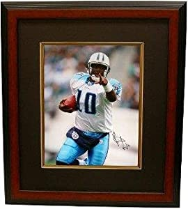 Vince Young signed Tennessee Titans 16x20 Photo Close Up Custom Framed- Steiner... by Sports Memorabilia