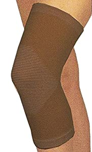 Infrared Brown Magnetic Knee Support Wrap ( Set of 5 ) by Beauty America USA