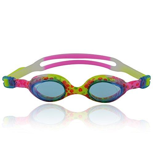 """»Flippo """" bambini-occhialini da nuoto, 100% UV-protezione + anti appannamento. Forte nastro in silicone + Scatola resistente. TOP-MARKEN - qualità! Grande Disponibilità di colori."""