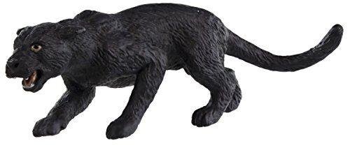 Safari Ltd Wild Safari Wildlife - Black Panther - Realistic Hand Painted Toy Figurine Model - Quality Construction From Safe and BPA Free Materials - For Ages 3 and Up - 1