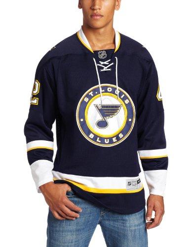 NHL Men's St. Louis Blues #42 David Backes Reebok