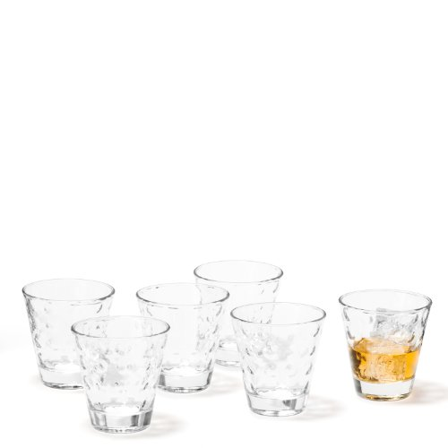 Leonardo 35453 Optic Set de 6 Verre à Whisky