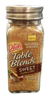 Mrs. Dash Table Blends Sprinkle & Serve 2.5 Oz. (Sweet Southern Bbq)